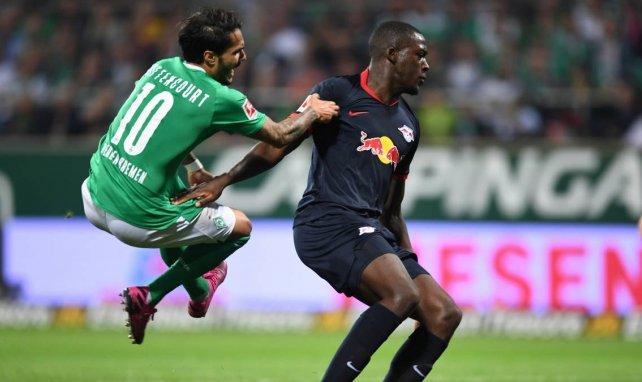 Ibrahima Konaté con el Leipzig