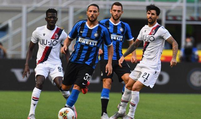 El Inter de Milán ha recibido la visita del Bolonia