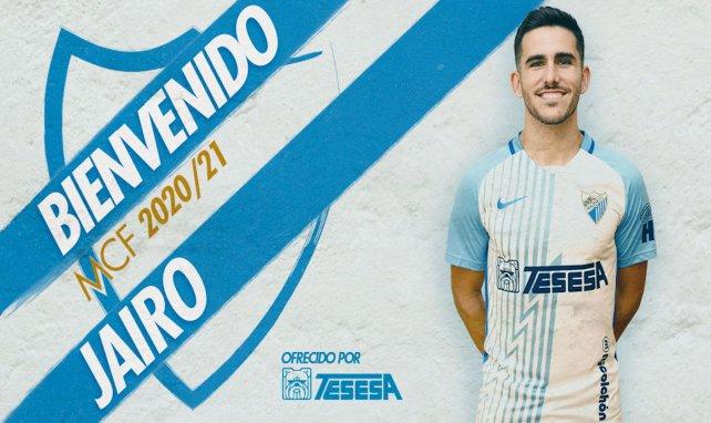 El Málaga se hace con Jairo