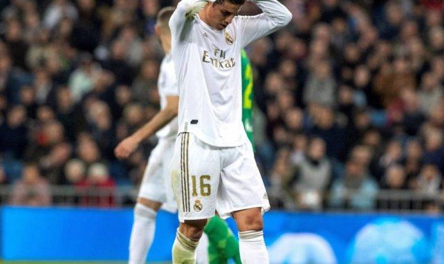 Real Madrid | James Rodríguez sigue en caída libre