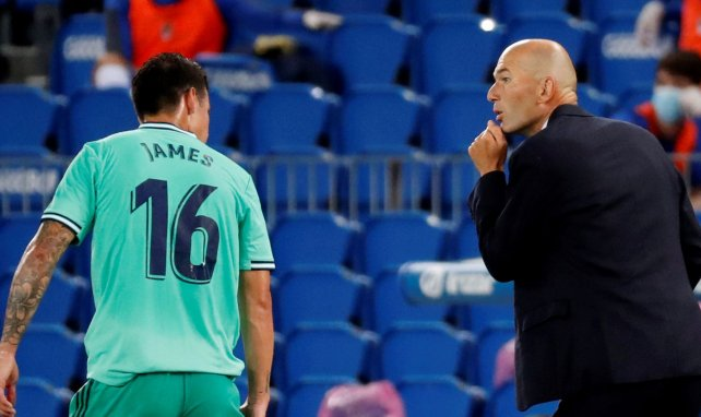 Real Madrid | Zidane alude de nuevo a la situación de James