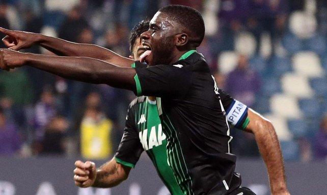 Jérémie Boga está rindiendo a gran nivel en el Sassuolo