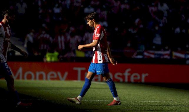 Joao Félix, durante un partido del Atlético de Madrid