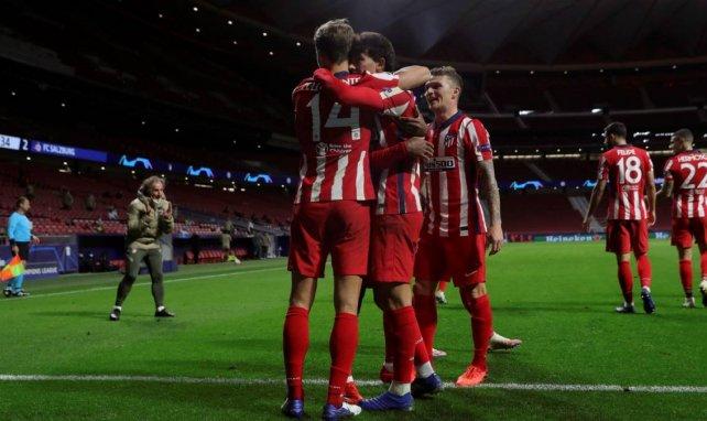 Las alineaciones del Atlético de Madrid - Lokomotiv de Moscú