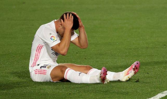 Luka Jovic y el enorme peso del Real Madrid