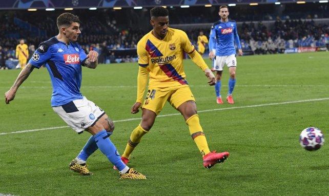 Un complicado panorama para Junior Firpo en el FC Barcelona