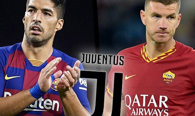 Luis Suárez y Edin Dzeko centran la actualidad de la Juventus