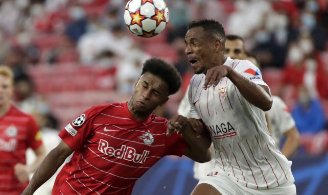 Liga de Campeones | El Sevilla sobrevive ante el Salzburgo