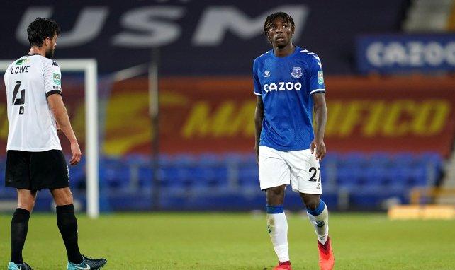 Moise Kean con el Everton
