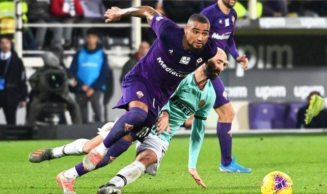 Kevin-Prince Boateng, en su etapa en la Fiorentina