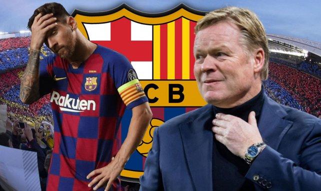 FC Barcelona | Laporta mueve ficha con Messi... pero duda con Koeman
