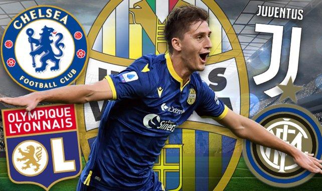 Duelo a tres bandas en la Serie A por Marash Kumbulla