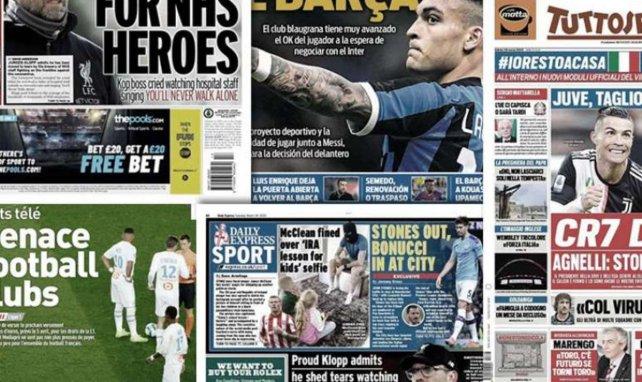 Una Champions League en agosto, el recorte de salario de Cristiano Ronaldo