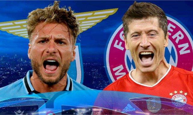 Las alineaciones del Lazio - Bayern Múnich