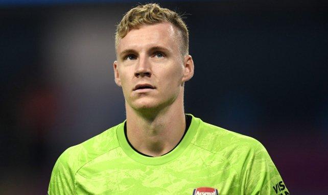Bernd Leno con el Arsenal