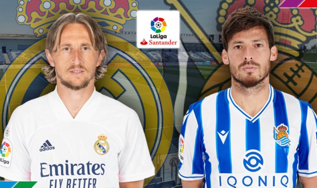 Ya hay alineaciones de Real Madrid y Real Sociedad