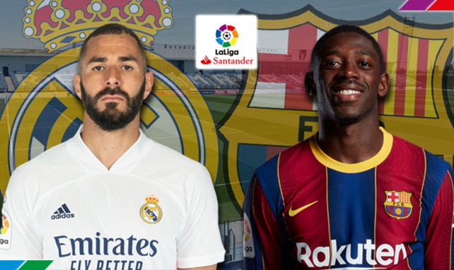 Confirmados los onces de Real Madrid y FC Barcelona