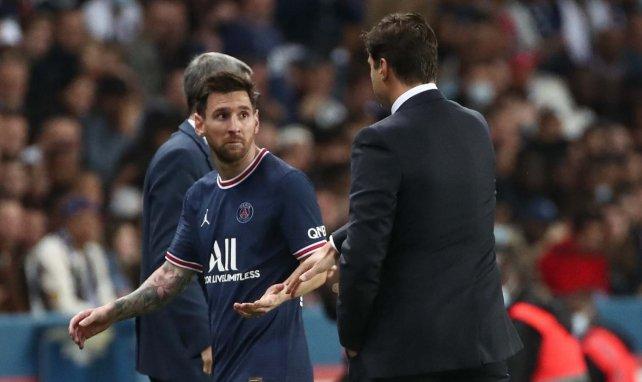 PSG | Pochettino justifica el cambio de Leo Messi