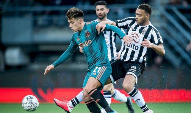 Lisandro Martínez se abre paso en la agenda del AC Milan