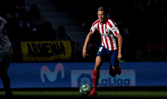 El nuevo hito de Marcos Llorente con el Atlético de Madrid