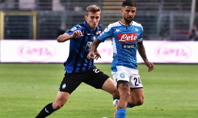 Lorenzo Inisigne tranquiliza al Nápoles