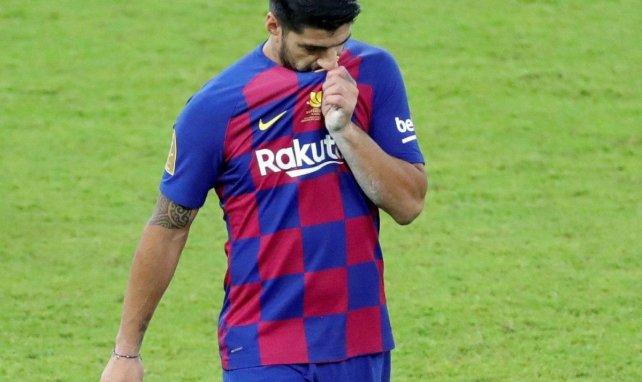 Luis Suárez dice adiós al FC Barcelona