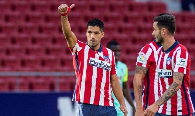Luis Suárez no pudo jugar ante el FC Barcelona