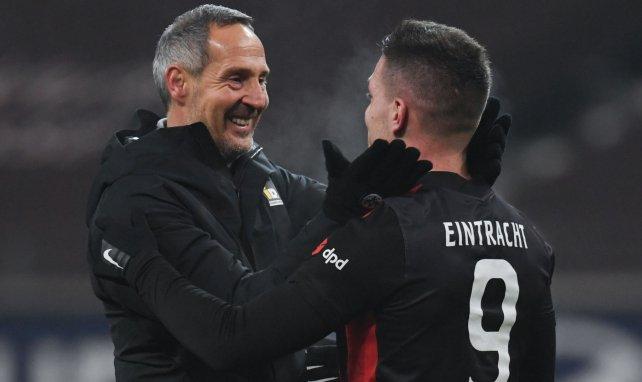 La estrategia trazada por el Eintracht de Frankfurt con Luka Jovic