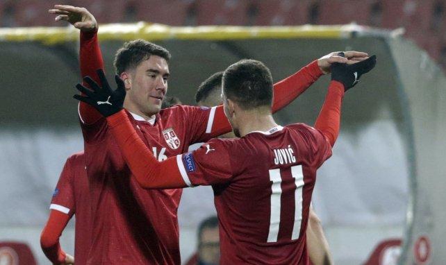 Luka Jovic ha brillado con Serbia