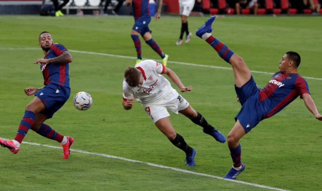Liga | Youssef En-Nesyri da la victoria al Sevilla sobre la bocina