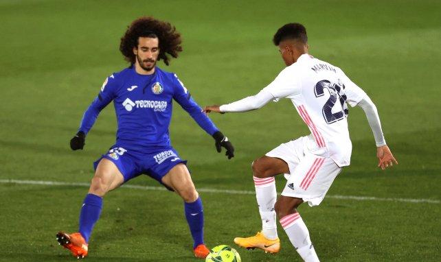Liga | Thibaut Courtois sostiene al Real Madrid en Getafe
