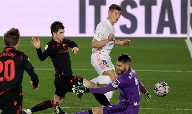 Liga | El Real Madrid salva los muebles ante la Real Sociedad