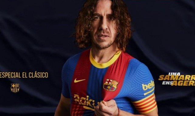 Al descubierto la camiseta que el FC Barcelona lucirá en el próximo Clásico