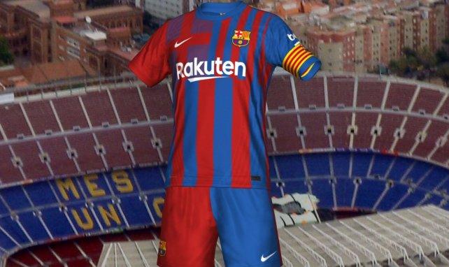 El FC Barcelona da a conocer su camiseta 2021-2022