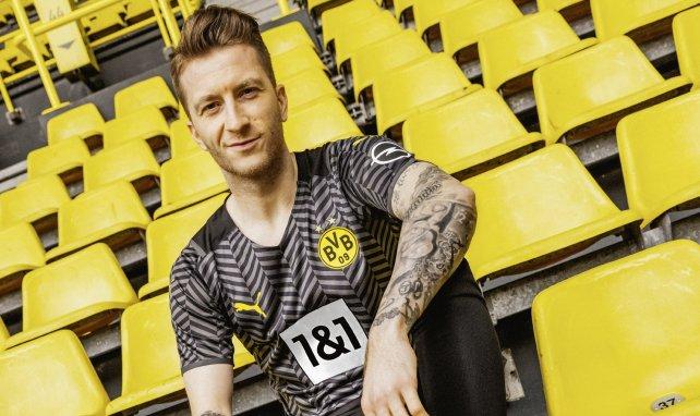 La nueva camiseta visitante del Borussia Dortmund 2021-2022