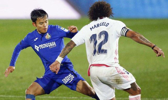 Marcelo, presionado por Take Kubo