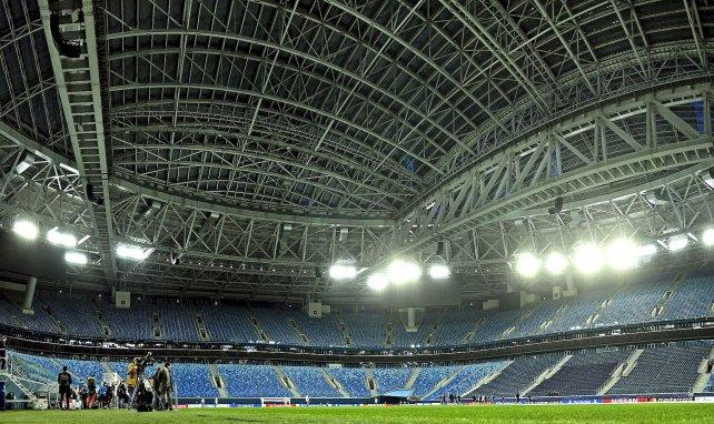 El Gazprom Arena de San Petersburgo