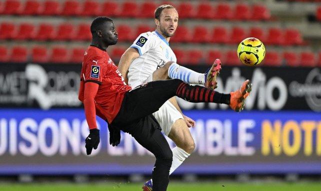M'Baye Niang con el Rennes