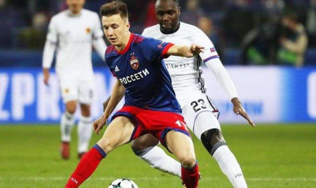 Aleksandr Golovin ha llamado la atención del FC Barcelona