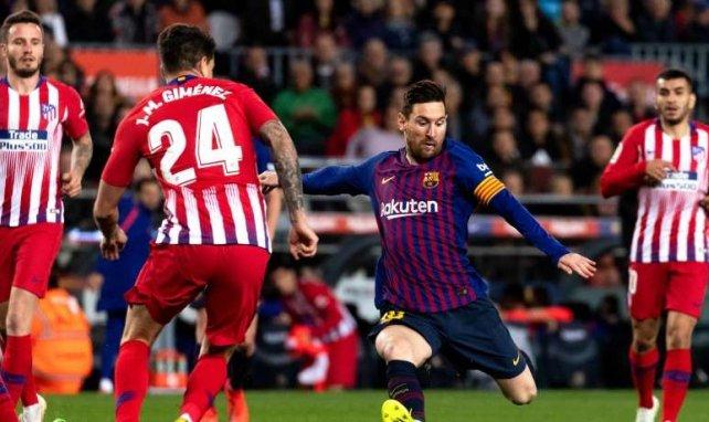 Atlético y FC Barcelona, frente a frente en el Metropolitano
