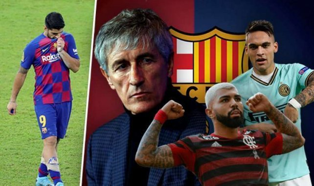 Continúa la búsqueda de un delantero centro para el FC Barcelona