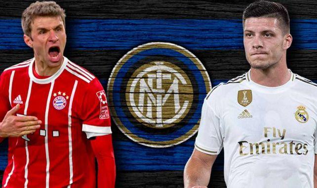 El Inter de Milán valora distintas opciones para su ataque