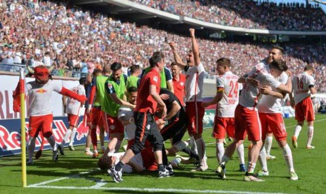 El RB Leipzig acaba de ascender a la Bundesliga