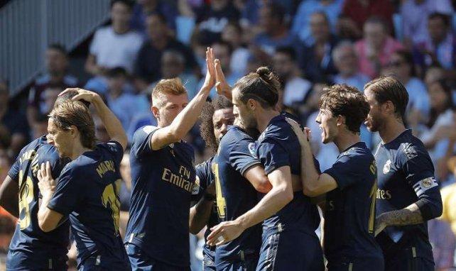 El Real Madrid derrota 0-3 al Celta de Vigo