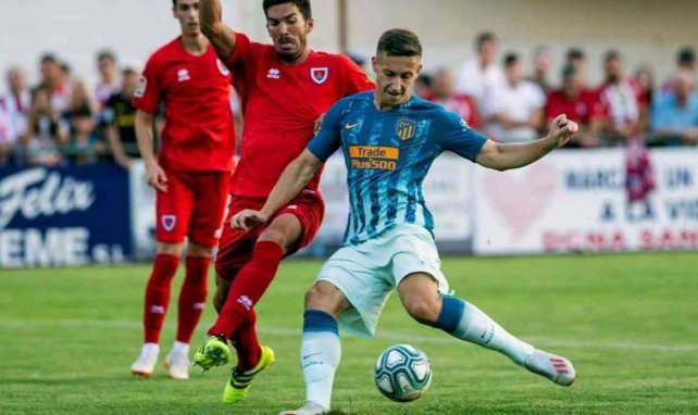 El serbio se mantiene a la espera de su oportunidad en el Atlético