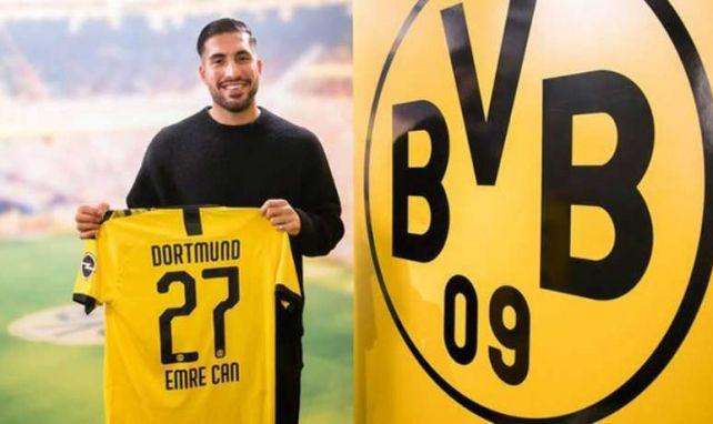 Emre Can ya es del Borussia de Dortmund