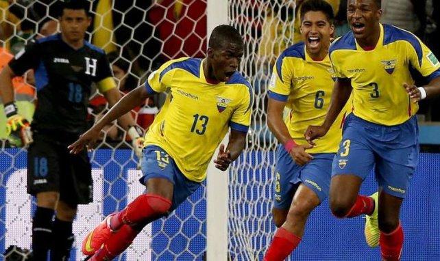 Enner Valencia dio la victoria a Ecuador