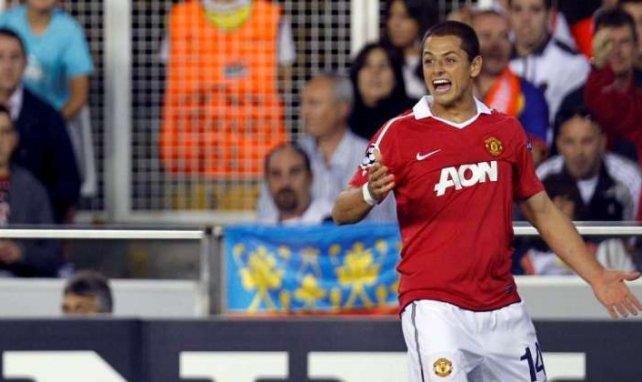 Javier Hernández ya ha sumado 8 tantos con el United