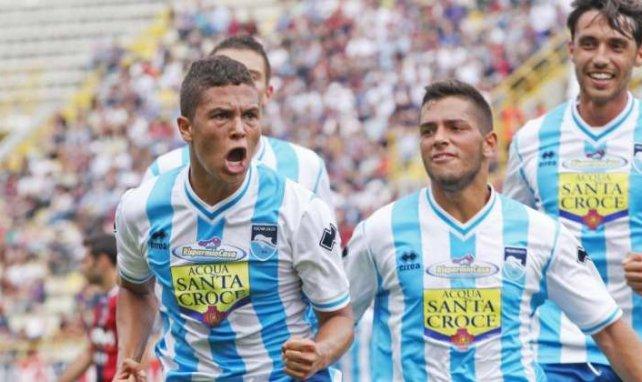 Juan Fernando Quintero es una de las revelaciones del Pescara