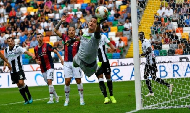Juan Musso brilla en la Serie A